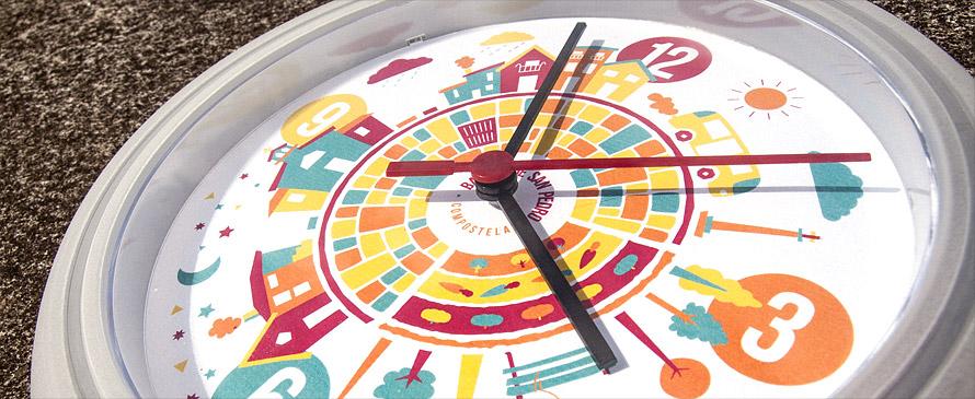Relojes barrio San Pedro