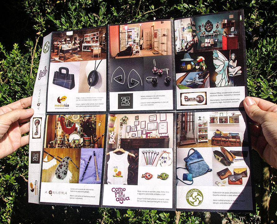 Tendas Obradoiro brochure