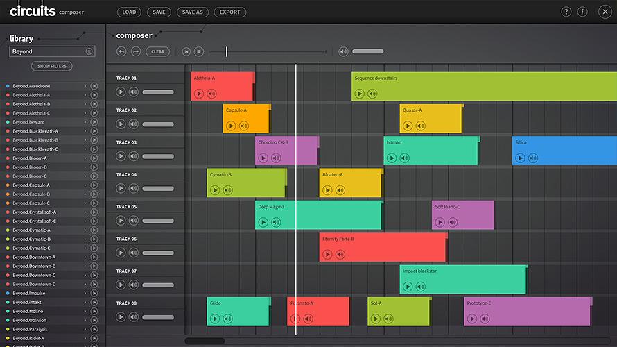 Circuits Composer